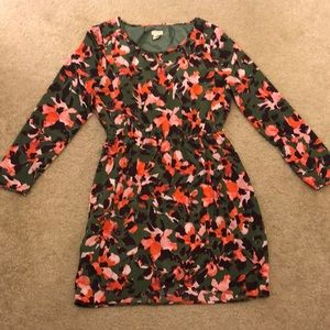 Floral JCrew dress